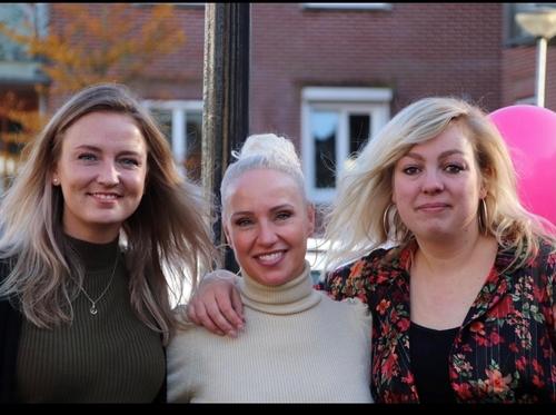 Melissa, Sabine en Celine
